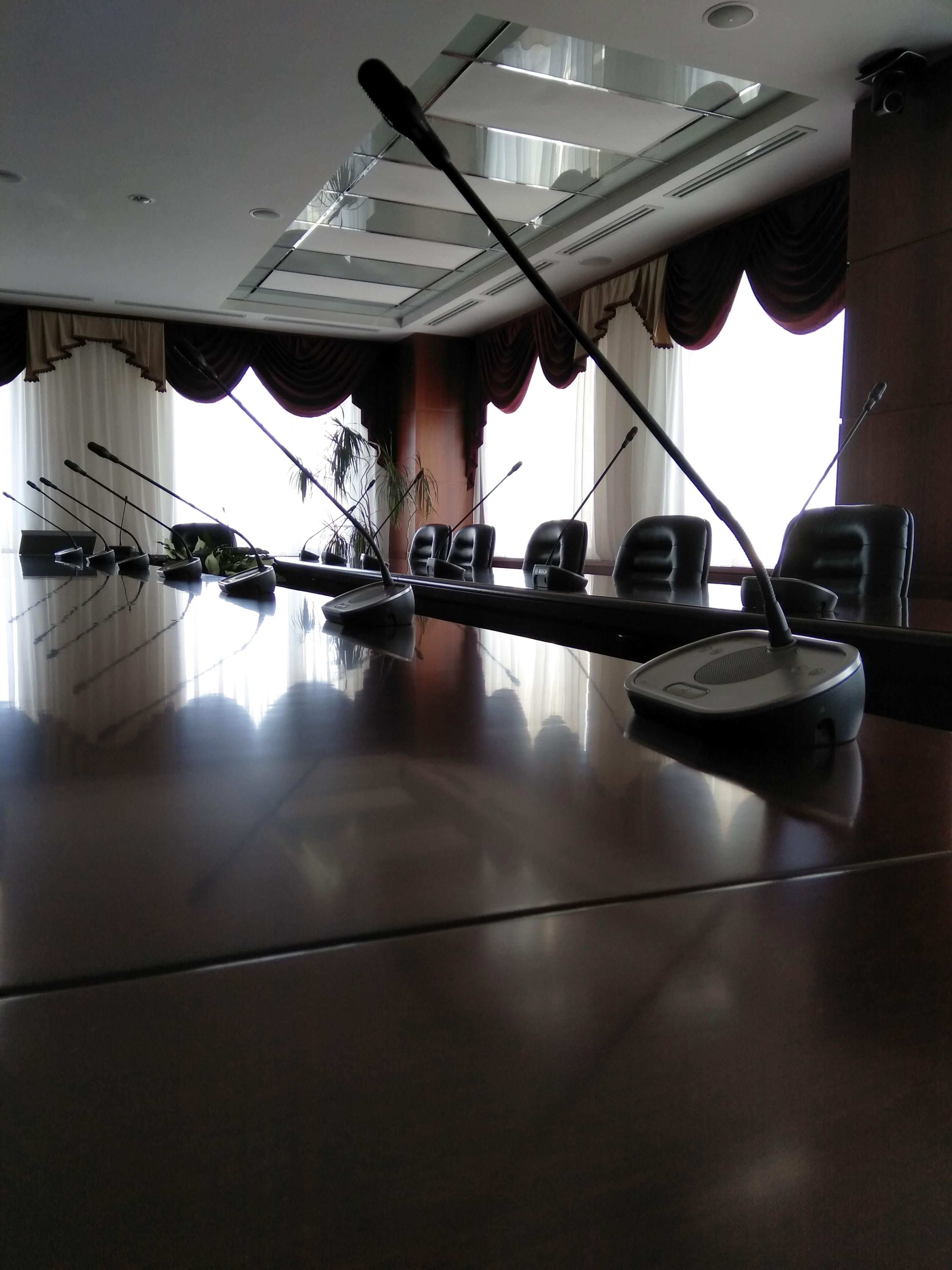 Crestron проект - РСТ конференц зал